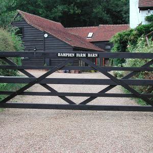 Hampden wooden gate