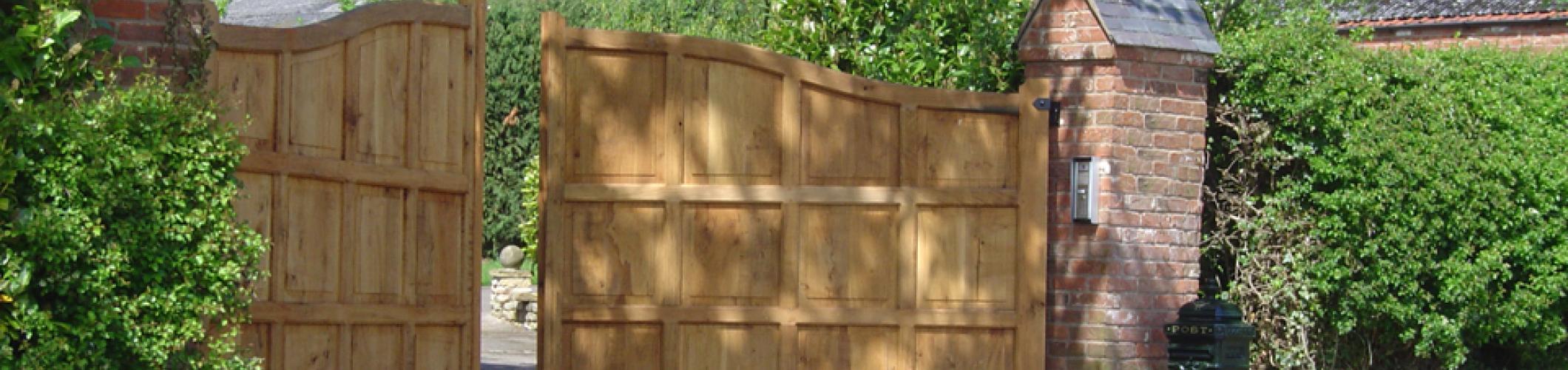 Wooden Gates Header